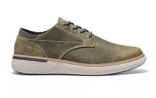 Timberland CROSS MARK PLAIN TOE OXFORD UNLINED OLIVE TREE