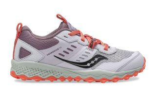 Saucony PEREGRINE 10 SHIELD WHITE CORAL JUNIOR