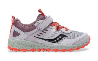 Saucony PEREGRINE 10 SHIELD A/C WHITE CORAL JUNIOR