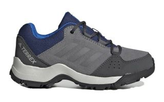 adidas TERREX HYPERHIKER LOW LEATHER GRIS AZUL NI�O EF2535