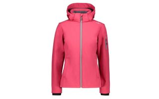 CMP GIACCA ZIP HOOD ROSA DONNA