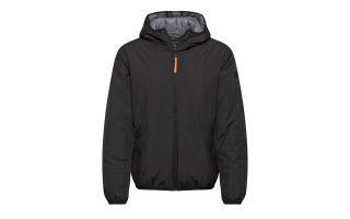 CMP JACKET REVERSE FIX HOOD BLACK