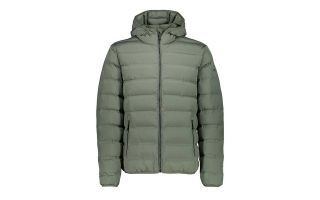 CMP SOFTSHELL JACKET FIX HOOD OLIVE GREEN