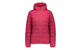 CMP JACKET WOMAN FIX HOOD FUCHSIA
