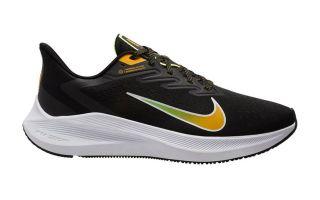 Nike ZOOM WINFLO 7 NEGRO AMARILLO CJ0291-007