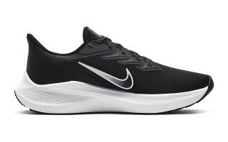NIKE ZOOM WINFLO 7 BLACK WHITE WOMAN
