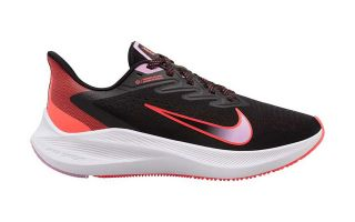 Nike ZOOM WINFLO 7 BLACK CRIMSON WOMAN