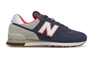 New Balance 574 V2 AZUL ROJO ML574SKB