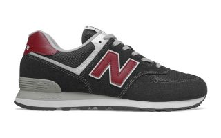 NEW BALANCE ML574  NERO ROSSO ML574SSL