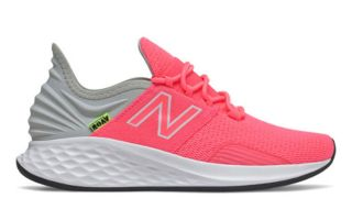 NEW BALANCE FRESH FOAM ROAV BACKPACK ROSA GRIS MUJER WROAVCP