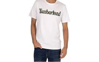 Timberland CAMISETA KENNEBEC RIVER CAMO LINEAR BLANCO