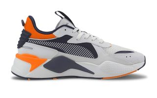 Puma RS-X HARD DRIVE WHITE BLUE ORANGE