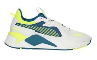 Puma RS-X HARD DRIVE WHITE YELLOW