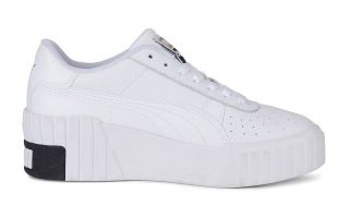 Puma CALI WEDGE WHITE BLACK WOMAN