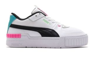 Puma CALI SPORT WHITE BLACK WOMEN