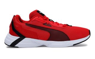 Puma SPACE RUNNER ROUGE NOIR 19372304