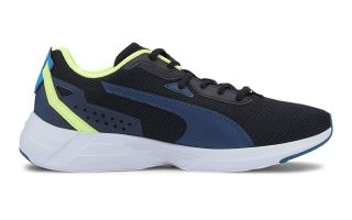 Puma SPACE RUNNER BLACK BLUE