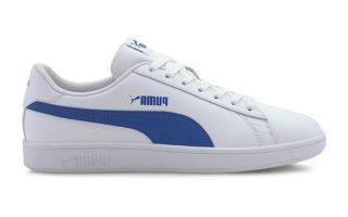 Puma SMASH V2 L BLANC BLEU 36521525