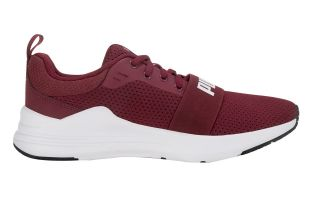 Puma WIRED RUN BURGUNDY JUNIOR