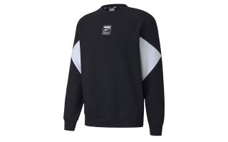 SUDADERA REBEL SMALL LOGO FL NEGRO