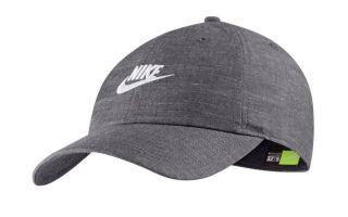 Nike GORRA SPORTSWEAR HERITAGE 86 GRIS