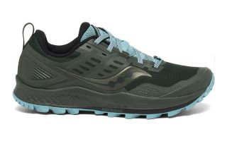 Saucony PEREGRINE 10 GREEN BLUE WOMEN