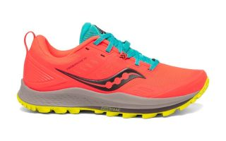 SAUCONY PEREGRINE 10 CORAL AMARILLO MUJER S10556-35