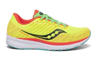 Saucony RIDE 13 LIME WOMEN