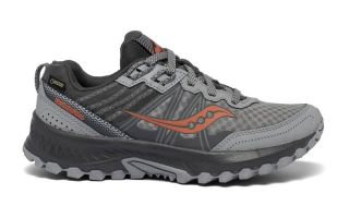 Saucony EXCURSION TR14 GTX GREY ORANGE WOMEN