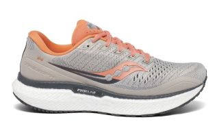 Saucony TRIUMPH 18 GRIS CORAL MUJER S10595-30