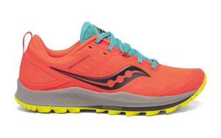 Saucony PEREGRINE 10 ORANGE BLAU S20556-35
