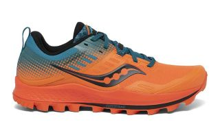Saucony PEREGRINE 10 ST ORANGE BLUE