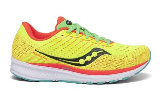 <center><b>Saucony</b><br > <em>RIDE 13 LIME</em>