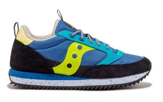 <center><b>Saucony</b><br > <em>JAZZ ORIGINAL BLU NERO</em>