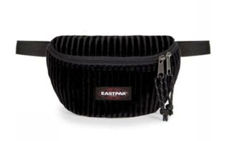 EASTPAK RI�ONERA SPRINGER VELVET BLACK
