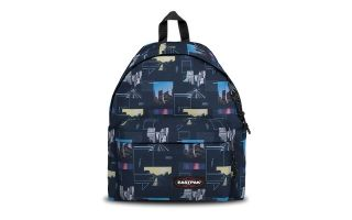 EASTPAK BACKPACK PADDED PAK R SHAPES BLUE