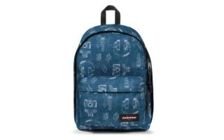 EASTPAK MOCHILA OUT OF OFFICE PATENT BLUE