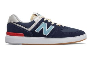 New Balance ALL COASTS 574 BLEU MARINE AM574PNR