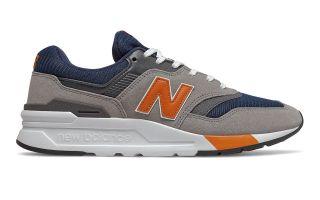 New Balance 997H GRIS NARANJA CM997HEX