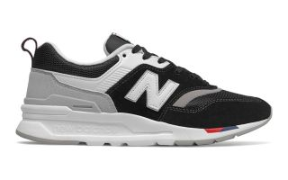 New Balance 997H BLACK WHITE WOMEN