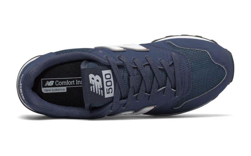 New Balance 500 V1 Classic navy blue women - Versatile sneakers
