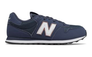 New Balance 500 V1 CLASSIC AZUL NAVY MUJER GW500HHD
