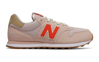 New Balance 500 BROWN RED WOMEN