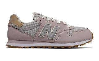 New Balance 500 BEIGE GRIS MUJER GW500HHI