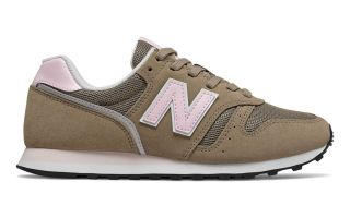 New Balance 373 BROWN PINK WOMEN