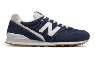 New Balance 996 NAVY BLUE WHITE WOMEN