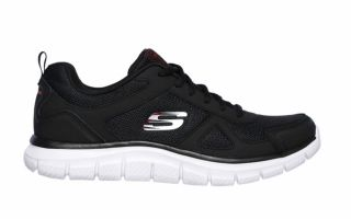 Skechers TRACK SCLORIC BLACK RED