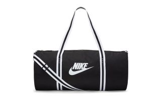 NIKE DUFFLE HERITAGE BAG BLACK WOMAN