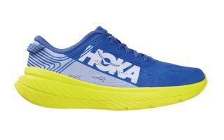 HOKA CARBON X BLUE YELLOW