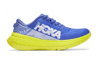 Hoka CARBON X BLUE YELLOW WOMEN